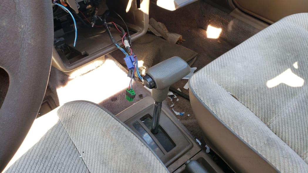 10 - 1986 Mazda 323 in California junkyard - photo by Murilee Martin