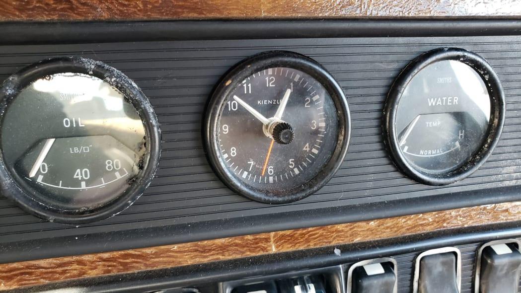 11 - 1973 Jaguar XJ6 in California junkyard - photo by Murilee Martin