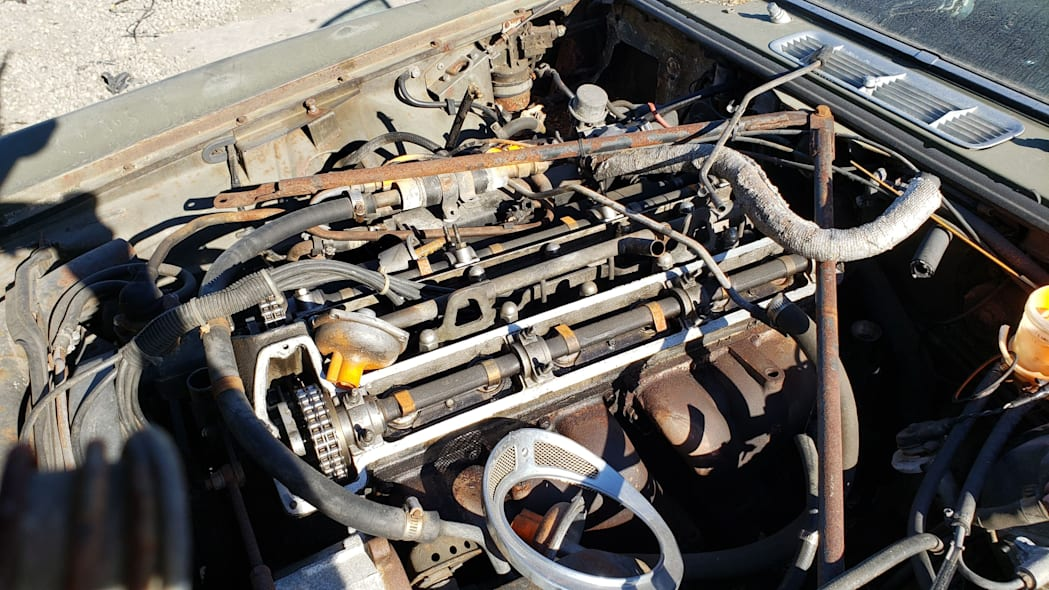17 - 1973 Jaguar XJ6 in California junkyard - photo by Murilee Martin