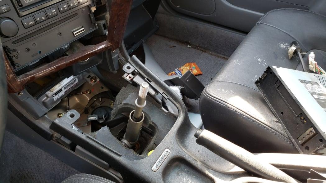 08 - 2000 Subaru Legacy GT in California junkyard - photo by Murilee Martin