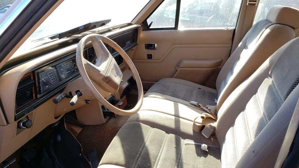 06 - 1984 Ford LTD in California junkyard - photo by Murilee Martin
