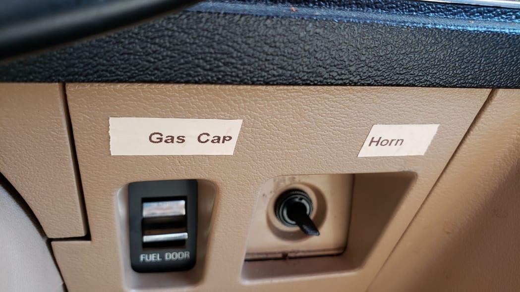 16 - 1984 Ford LTD in California junkyard - photo by Murilee Martin