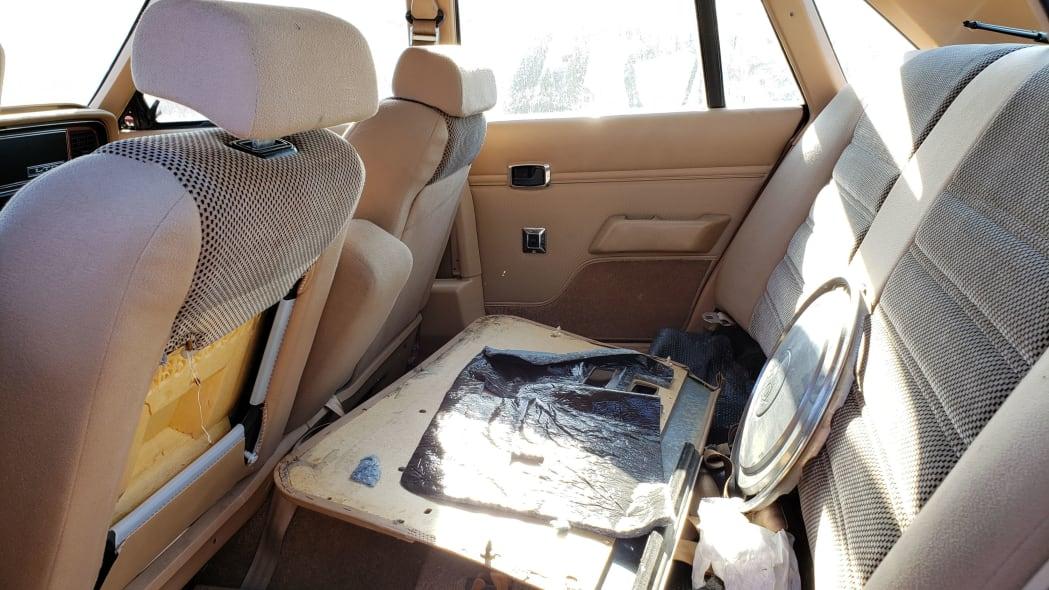 20 - 1984 Ford LTD in California junkyard - photo by Murilee Martin