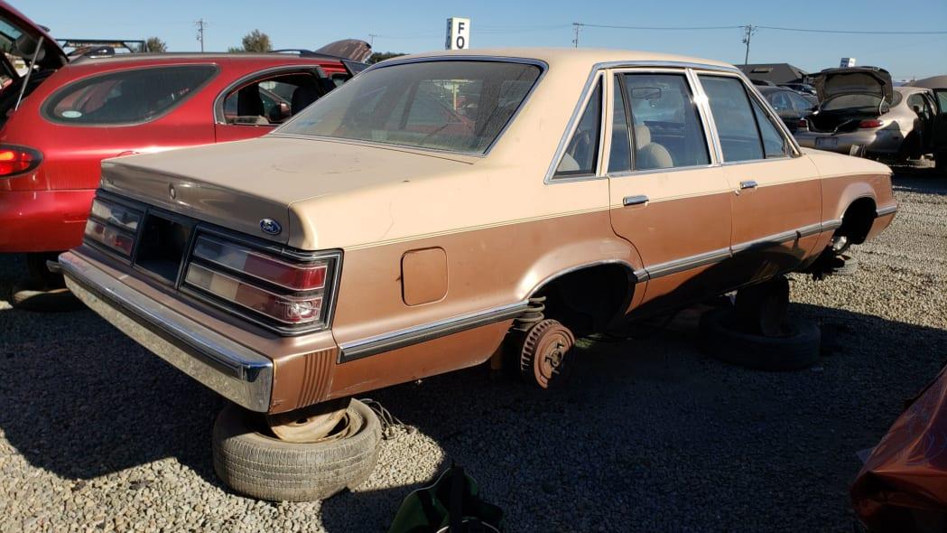 25 - 1984 Ford LTD in California junkyard - photo by Murilee Martin