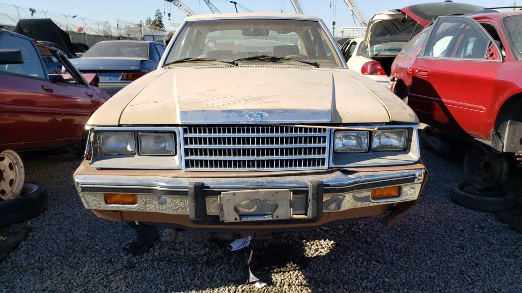 35 - 1984 Ford LTD in California junkyard - photo by Murilee Martin