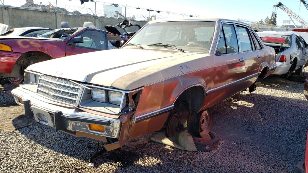 37 - 1984 Ford LTD in California junkyard - photo by Murilee Martin