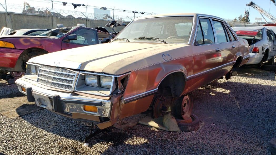 39 - 1984 Ford LTD in California junkyard - photo by Murilee Martin