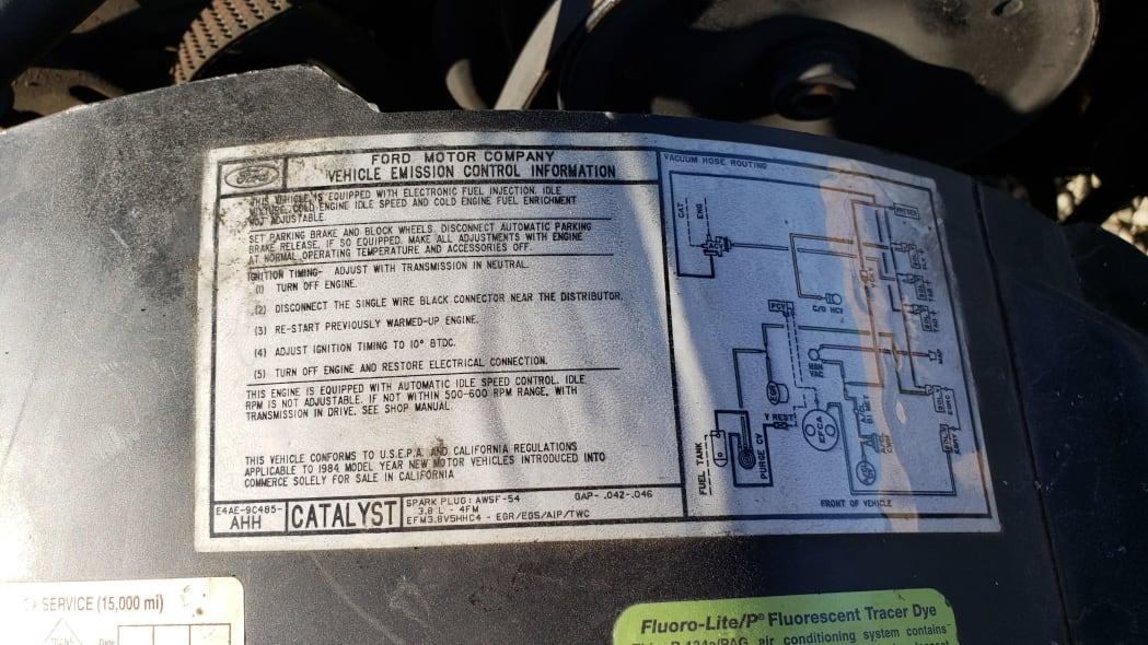 42 - 1984 Ford LTD in California junkyard - photo by Murilee Martin