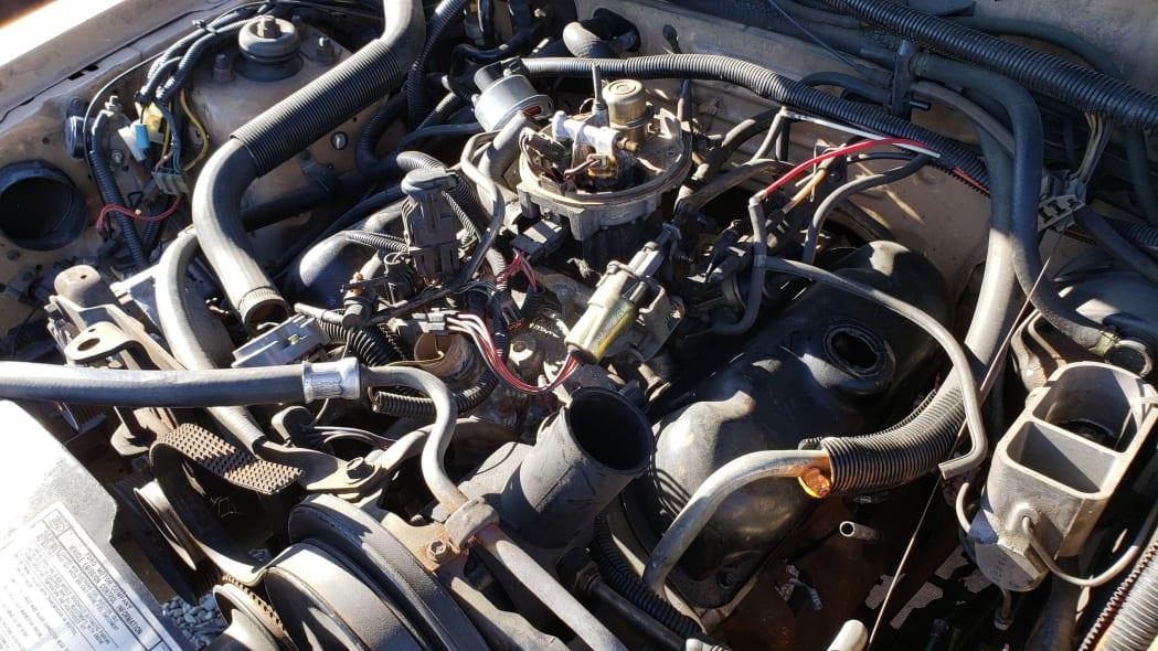 46 - 1984 Ford LTD in California junkyard - photo by Murilee Martin