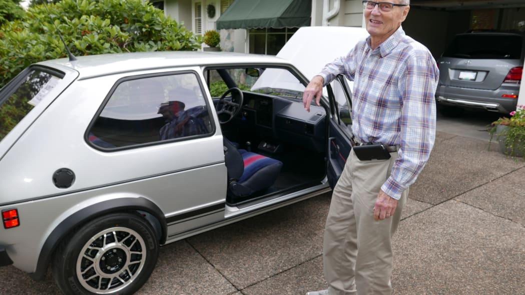 Derek Spratt's 1983 Volkswagen Rabbit GTI