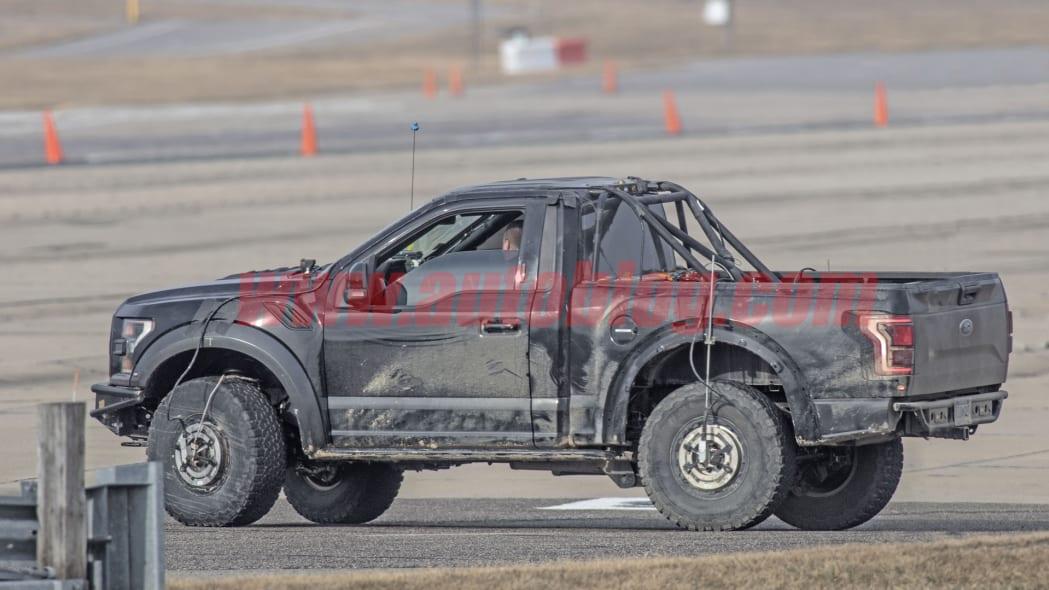 F-150 'runt' Raptor mule returns