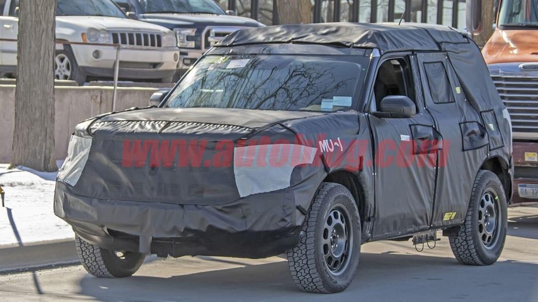 Ford Bronco Sport spy photos
