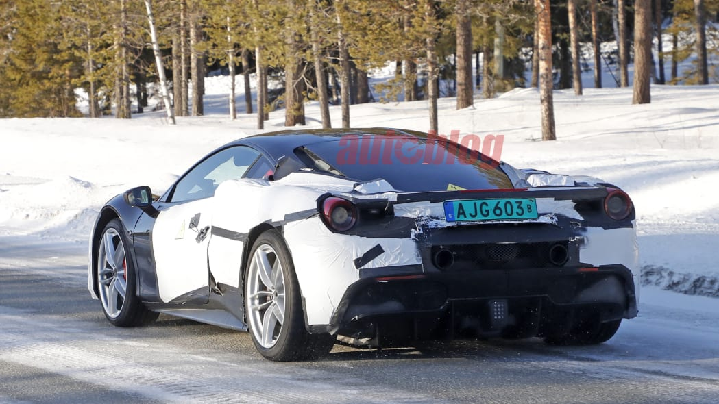Ferrari Hybrid Prototype