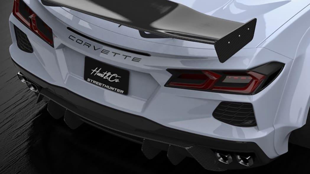 Streethunter Chevrolet Corvette C8 Widebody 3
