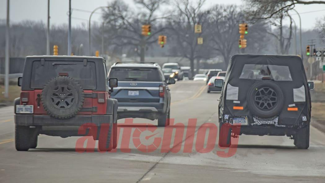2021 Ford Bronco vs. JK Jeep Wrangler