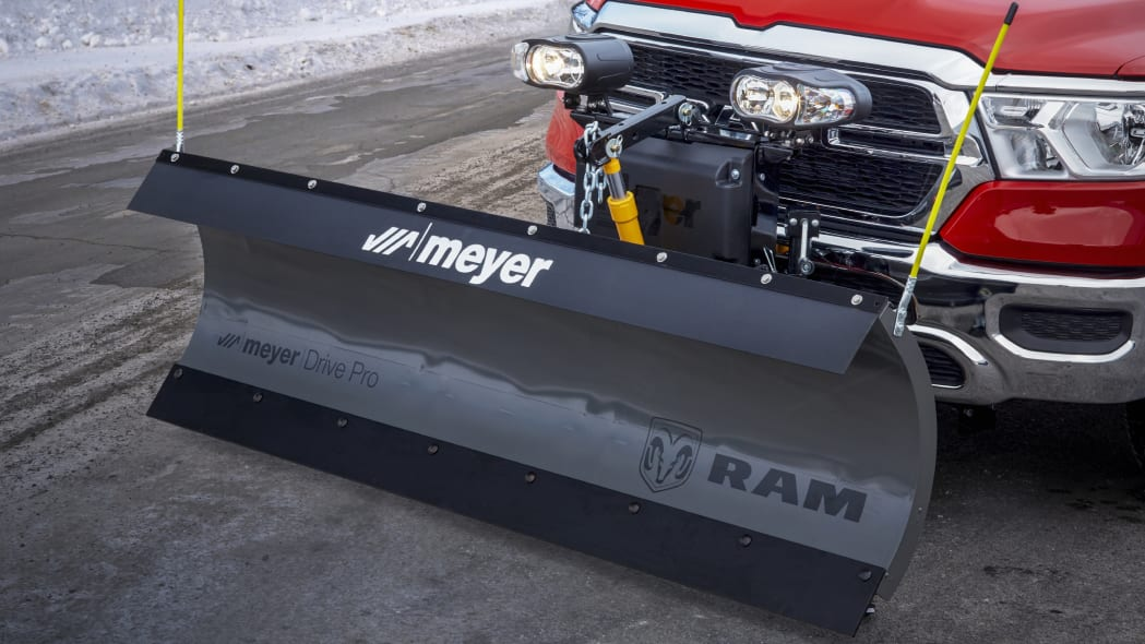 2021 Ram 1500 with Snow Plow Prep package