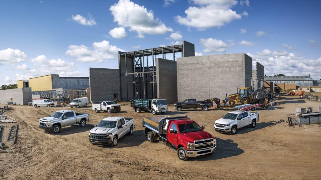 Powered by Chevrolet, General Motors' commercial fleet busines