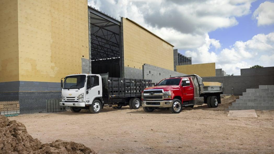 2021 Low Cab Forward trucks will offer a new 6.6L V-8 gas engine