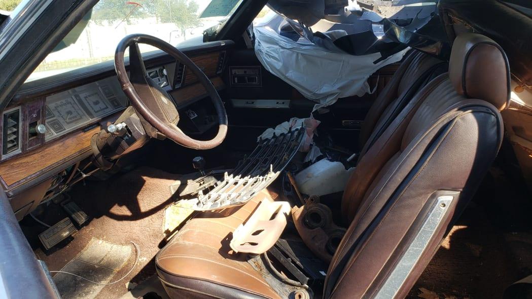 04 - 1982 Chrysler LeBaron convertible in California junkyard - photo by Murilee Martin