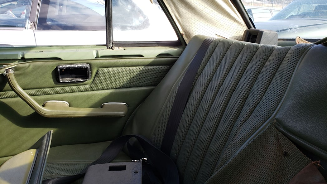 17 - 1975 Mercedes-Benz 240D in California Junkyard - photo by Murilee Martin