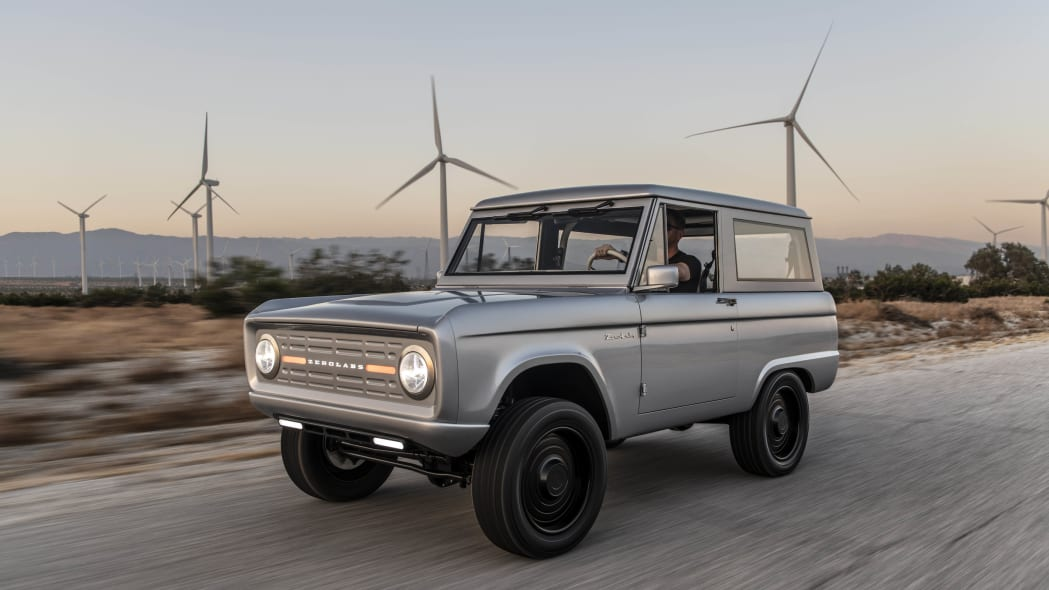 Electric Ford Bronco from Zero Labs