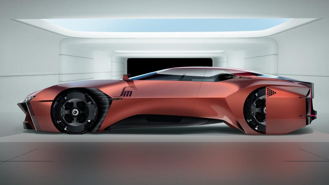 Citroen SM concept rendering