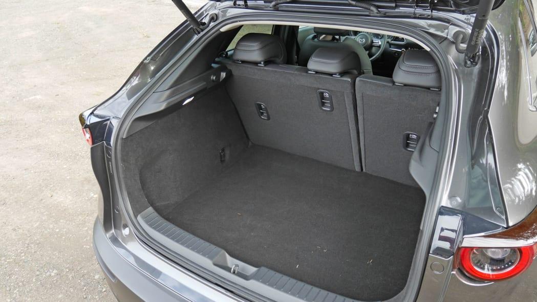 2020 Mazda CX-30 cargo area