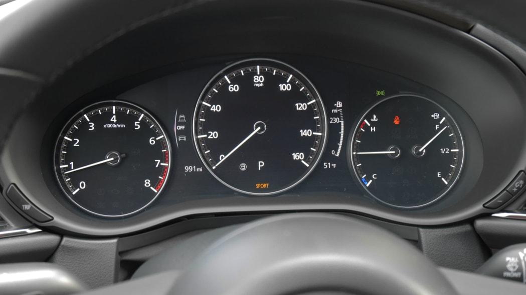2020 Mazda CX-30 gauges 2