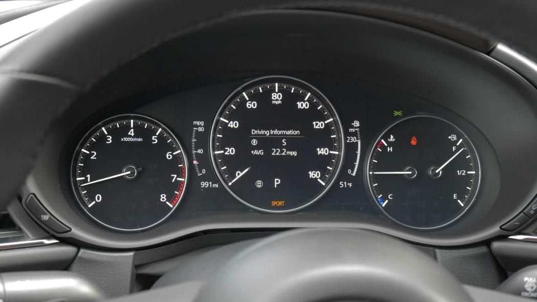 2020 Mazda CX-30 gauges 3