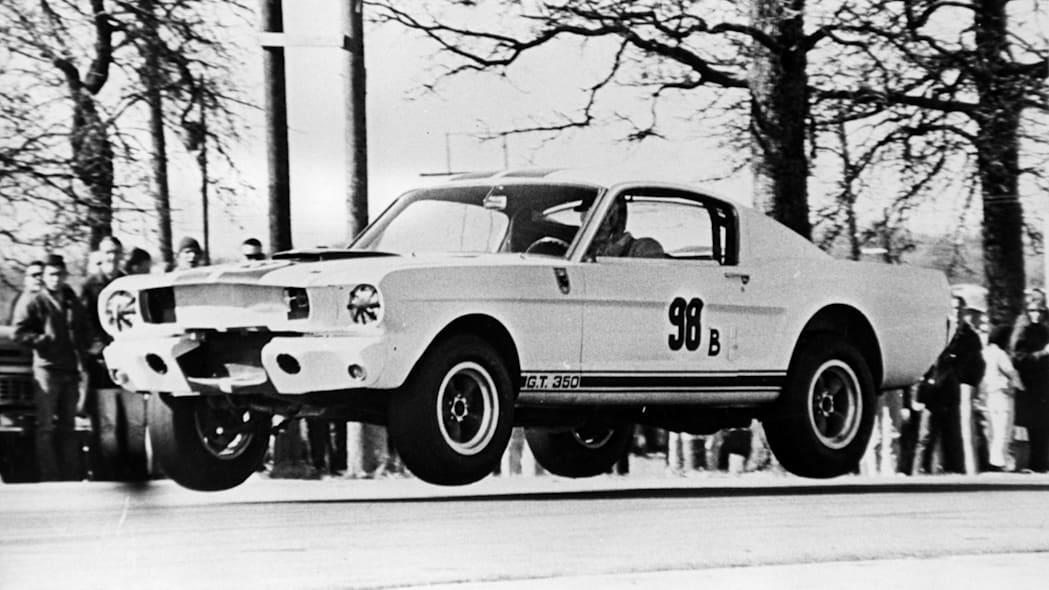 1965 Ford Mustang Shelby GT350R driven by Ken Miles