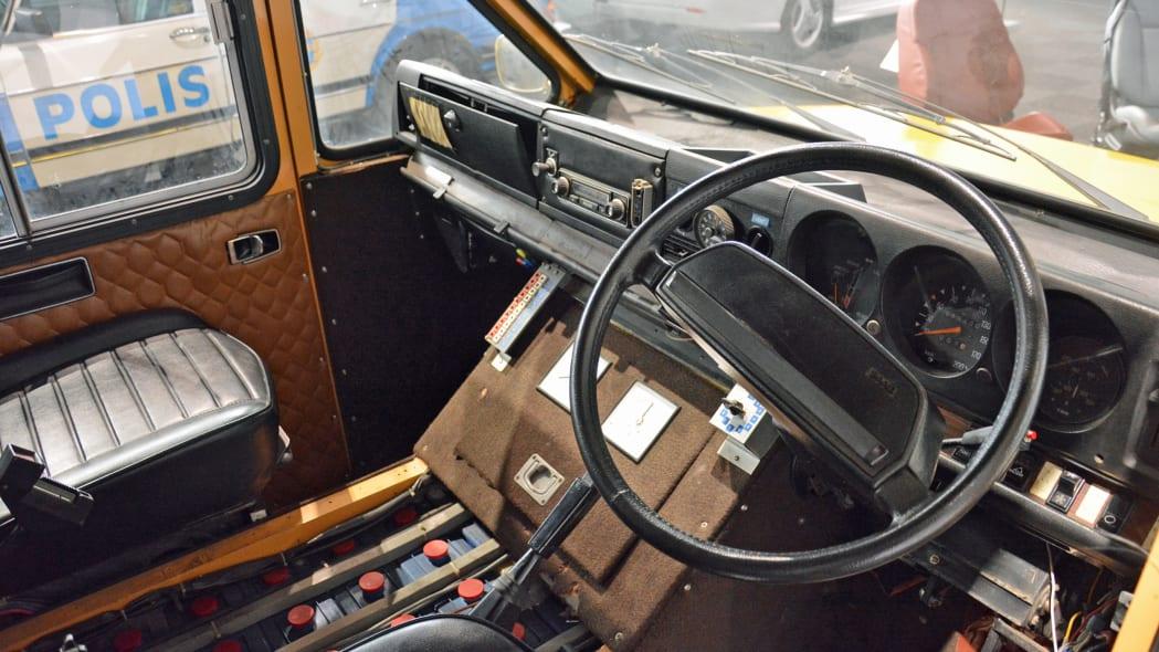 1976 Saab 99 electric van prototype