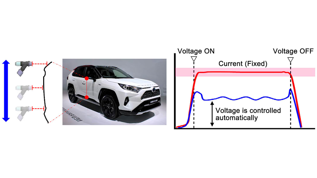 Toyota airless paint atomizer 4
