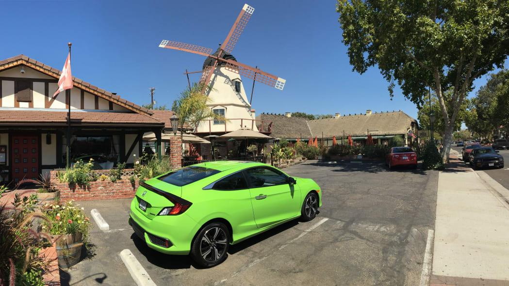 Honda Civic Si Green