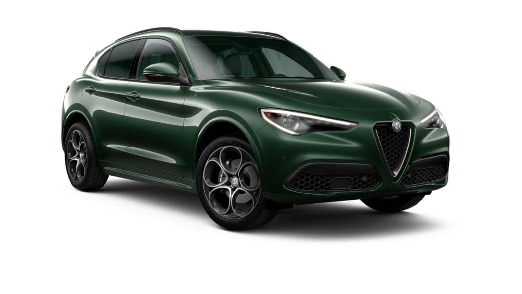 Alfa Romeo Stelvio Green