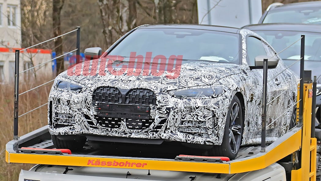 BMW 4 Series Coupe prototype