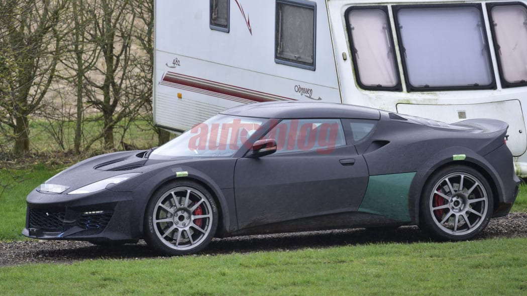 Lotus Esprit spy shot