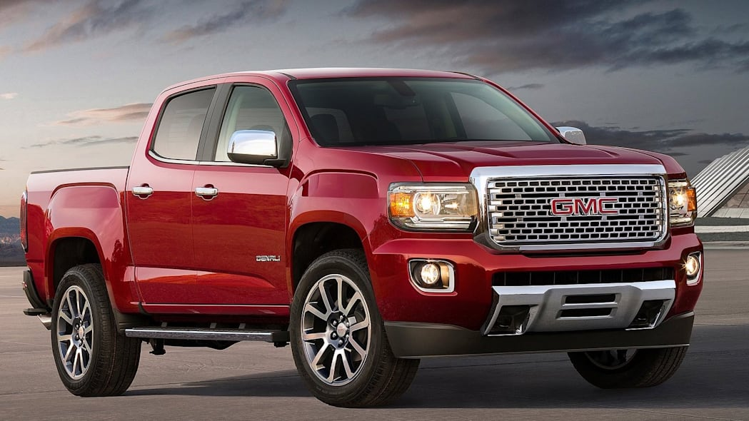 Number 9: GMC Canyon