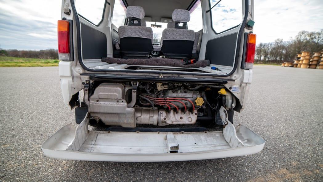 1993 Subaru Sambar Dias engine