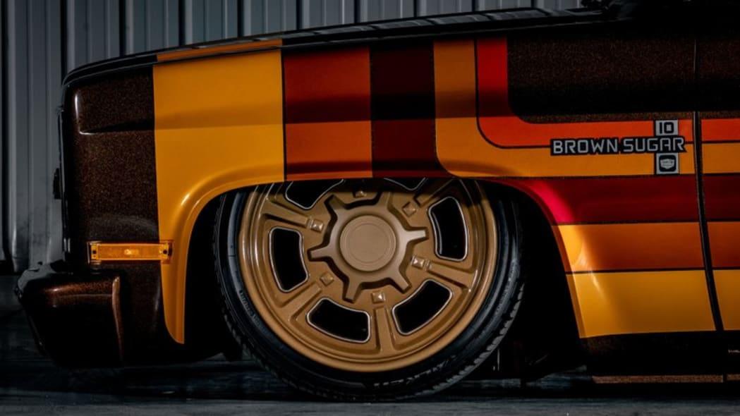 Brown Sugar '83 Chevy custom pickup camper