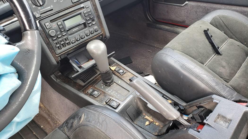 17 - 1997 Volvo 850R sedan in Colorado junkyard - photo by Murilee Martin