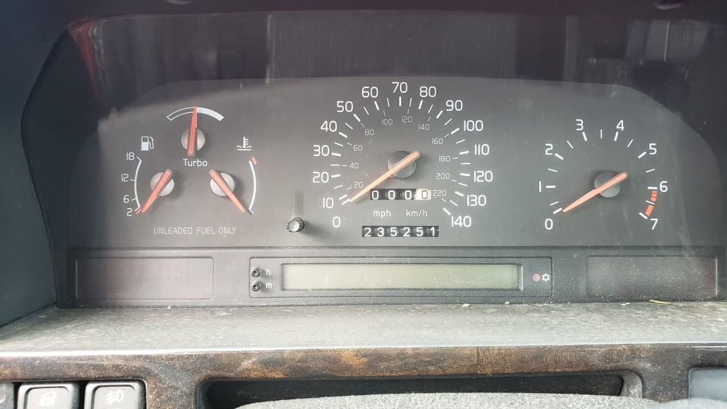 22 - 1997 Volvo 850R sedan in Colorado junkyard - photo by Murilee Martin