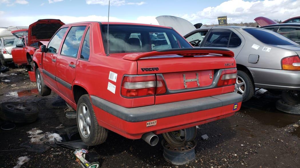 31 - 1997 Volvo 850R sedan in Colorado junkyard - photo by Murilee Martin