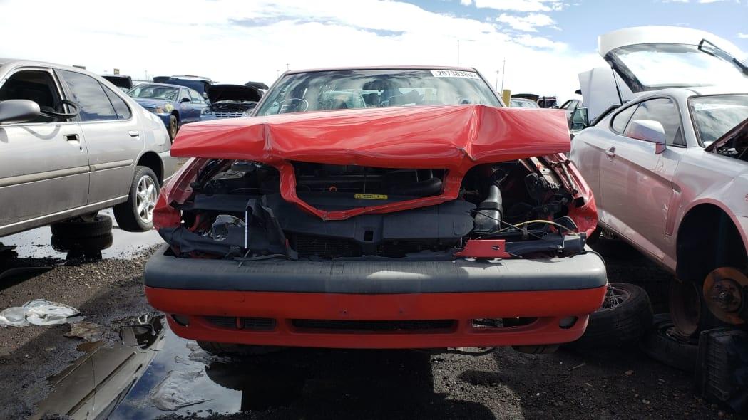 46 - 1997 Volvo 850R sedan in Colorado junkyard - photo by Murilee Martin