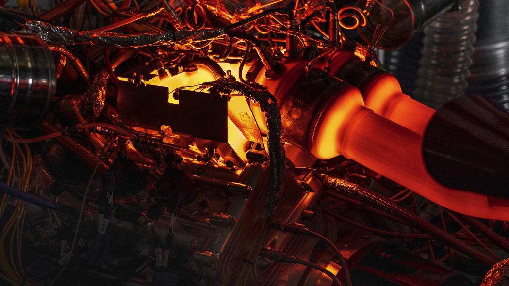 Aston Martin 3.0-liter V6 engine
