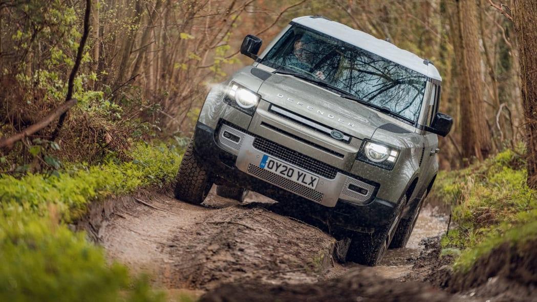 2020 Land Rover Defender 110 off-road
