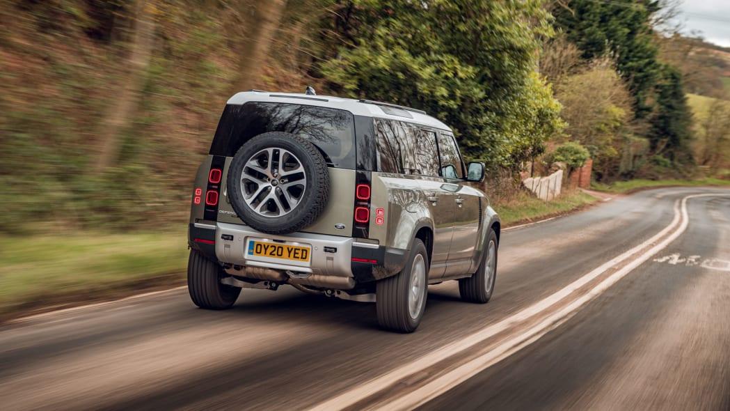 2020 Land Rover Defender 110 on road 1