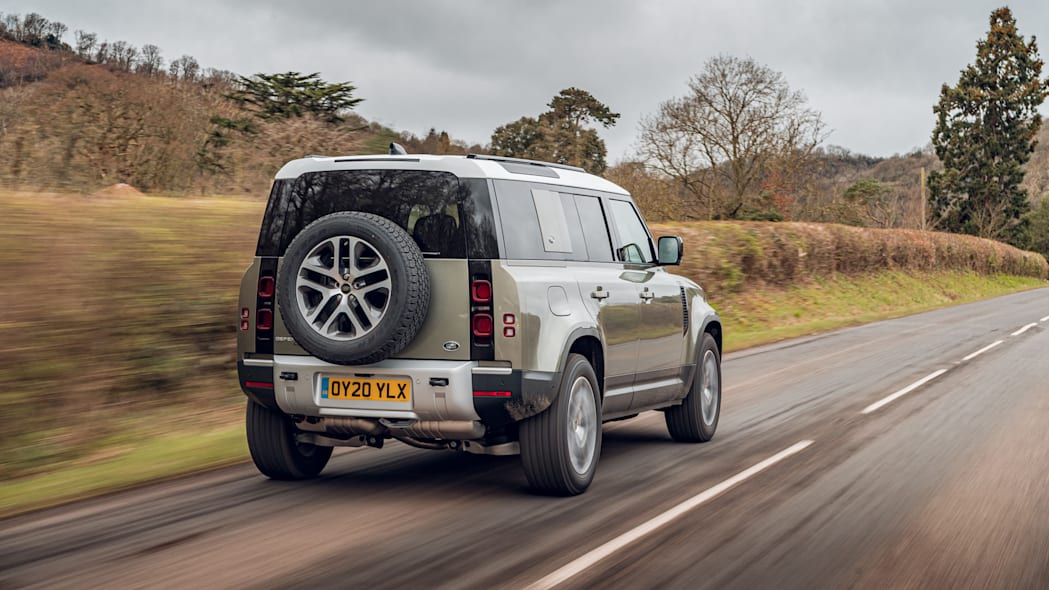 2020 Land Rover Defender 110 on road 2