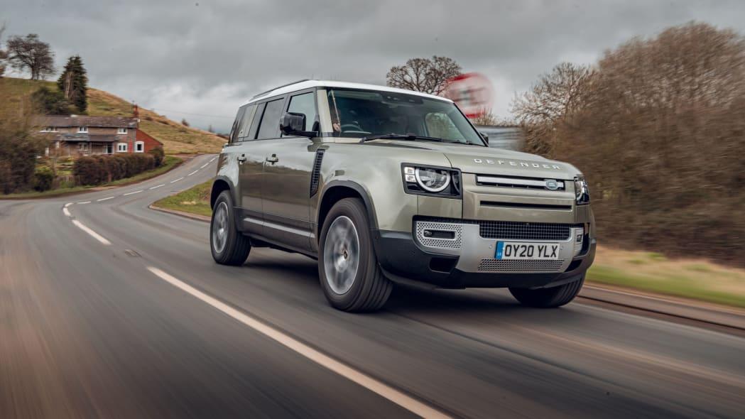 2020 Land Rover Defender 110 on road 3
