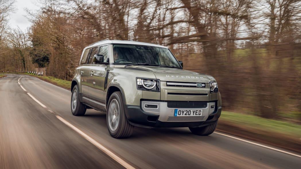2020 Land Rover Defender 110 on road 6