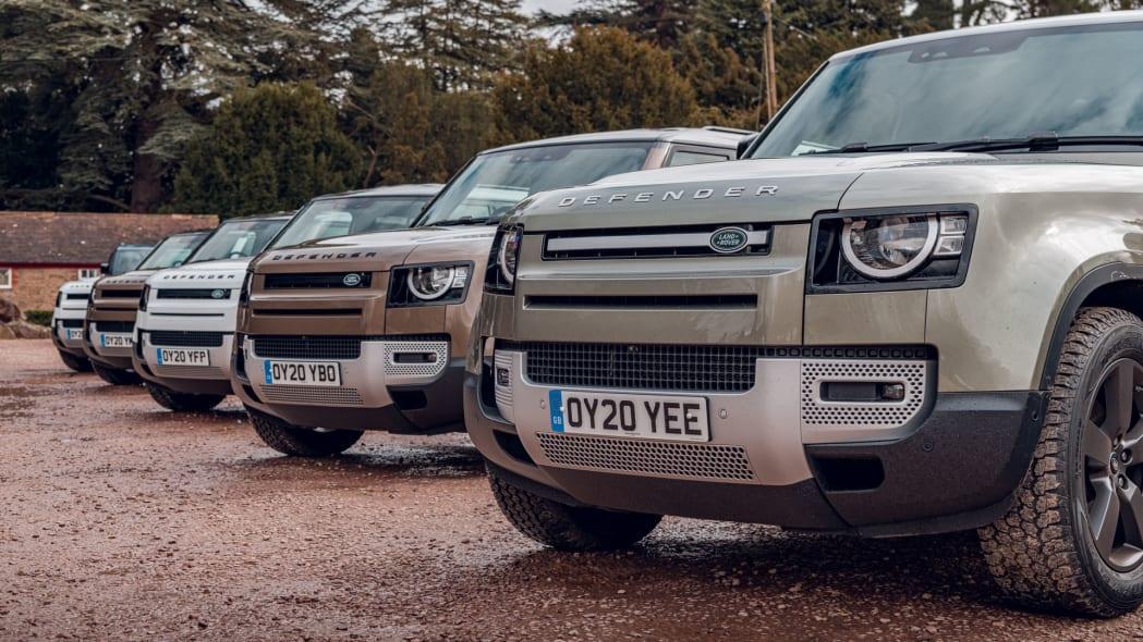2020 Land Rover Defender 110 group